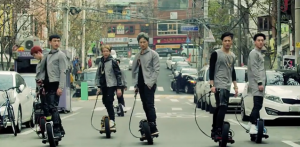 Mark, JB, Jr., Jackson, YooGyeom, BamBam, and YoungJae make up GOT7./via YouTube
