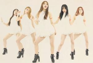 """Aromi, Sara, RaByul, JiHye, and YeRim dance in """"Do Better.""""/via YouTube"""