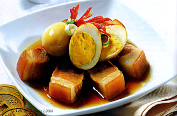 Caramelized Braised Pork and Boiled Eggs – Traditional Viet