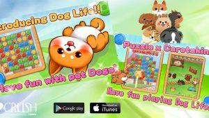 Cute Dog's Life app crossfield