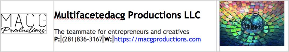 Multifacetedacg Productions LLC