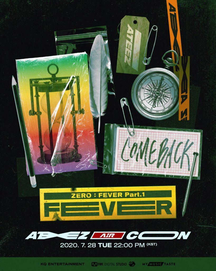 ATEEZ Announces Online Show AIR CON <ZERO - FEVER Part.