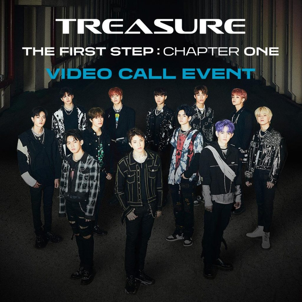 TREASURE 1st SINGLE ALBUM [THE FIRST STEP - CHAPTER ONE] VIDEO CALL EVENT